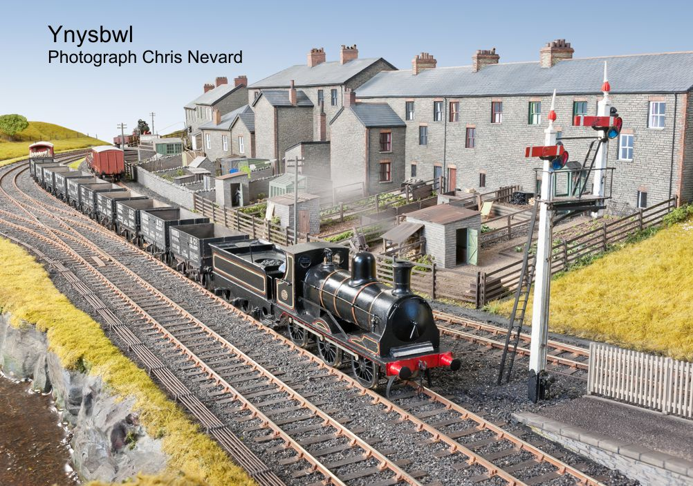 Ynysybwl - photographed for Model Rail, 2 May 2013