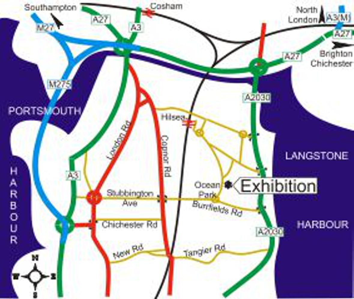 Portsmouth Bus Routes Map Exhibition   SHMRC