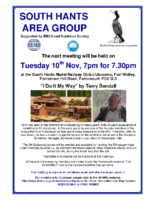 Area Meeting 2015 1 10th Nov